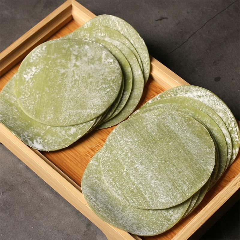 菠菜饺子皮